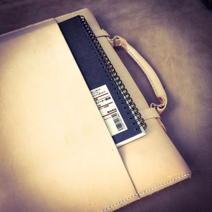 Outer sleeve to hold a sketchbook of your choice.