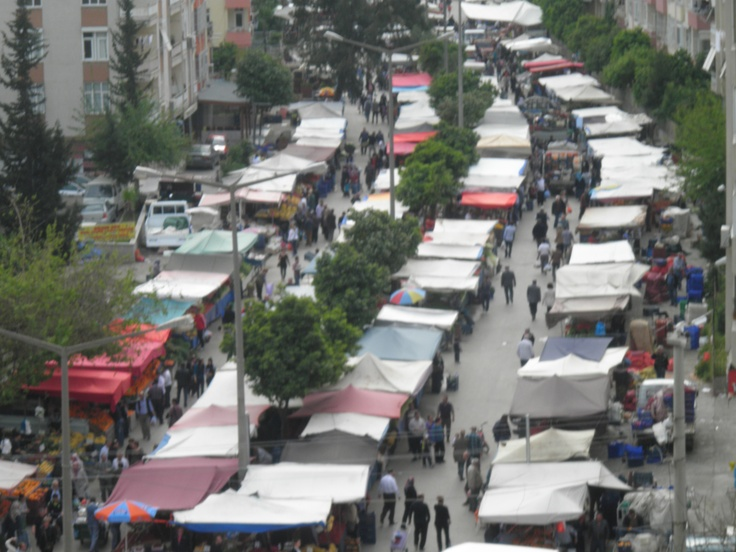 A market place in Adana/Turkey.