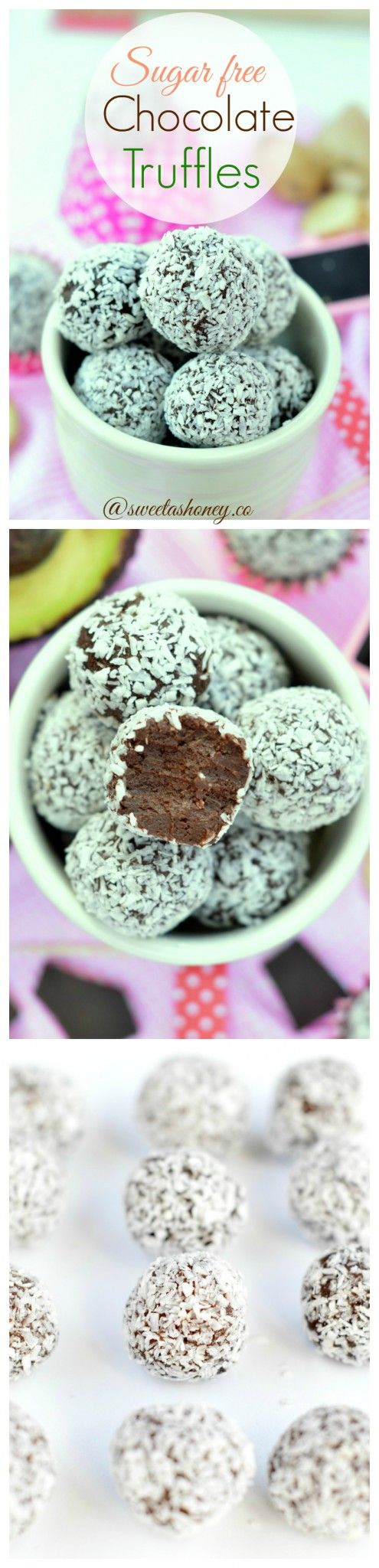 I am SO making this for Valentines Day! This is the Best Creamy Chocolate Truffles ever & ridiculously easy to make! Sugar free, vegan and gluten free.