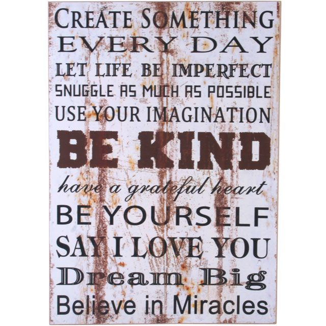 Create Something Wall Plaque £7.99