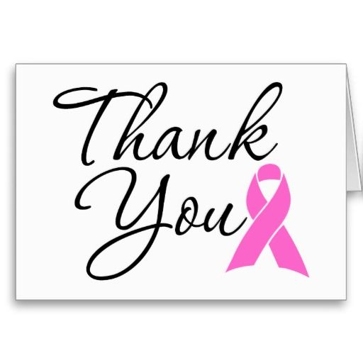 18 best Breast Cancer Thank You Cards images on Pinterest Breast