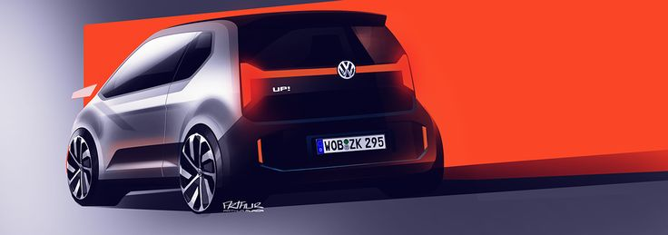 Volkswagen Up! on Behance