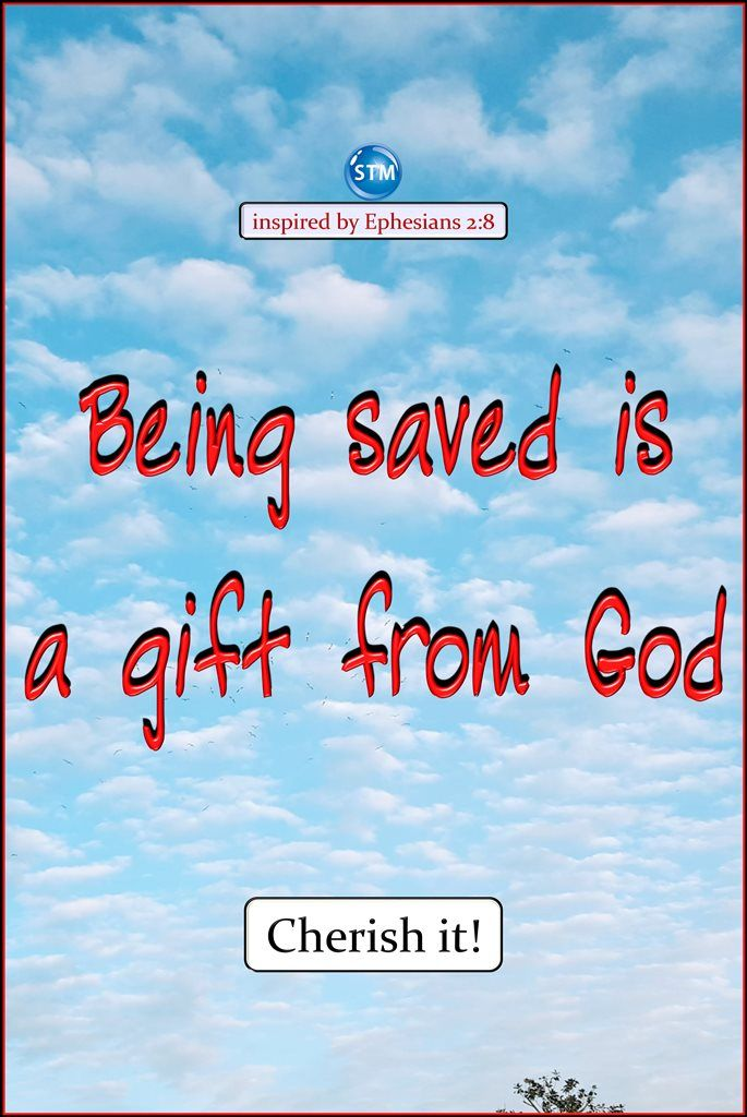 Happy weekend everyone! #Jesus said, 'You must all be #born #again.' And 'Unless you are born again, you cannot enter into #God's #kingdom.' You must be born again; receive this gift from God!  Scripture for the day: Ephesians 2:8-10 God saved you through faith as an act of kindness. You had nothing to do with it.  Being saved is a gift from God.  9 It's not the result of anything you've done, so no one can brag about it. 10 God has made us what we are. He has created us in Christ Jesus to…