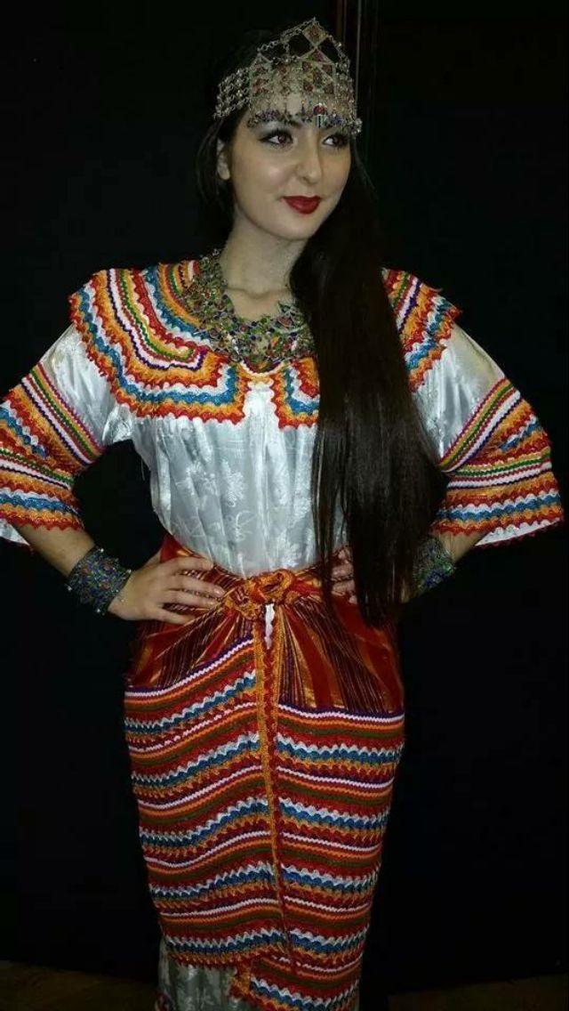 Tenue traditionnelle kabyle | Inspiration berbère ♥️ ...