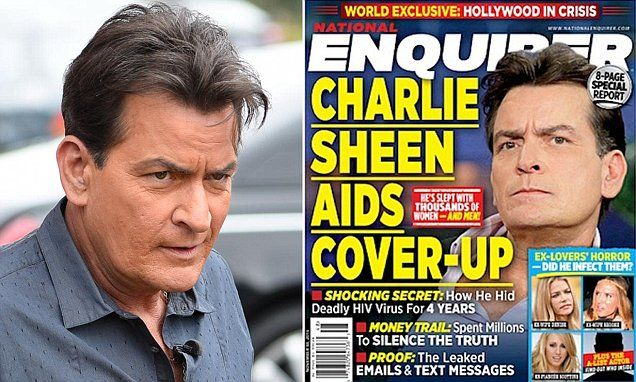 NBC News announced that Charlie Sheen will be making a 'revealing personal announcement' on Tuesday morning as it was reported by the National Enquirer the actor is HIV positive.