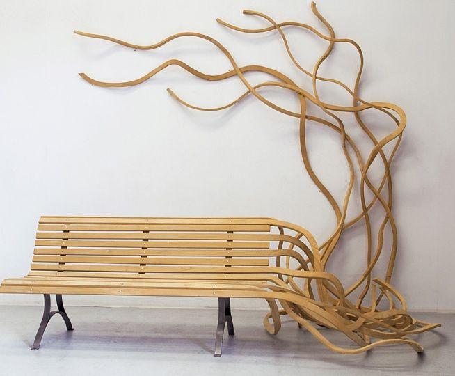 Spaghetti Bench by Pablo Reinoso