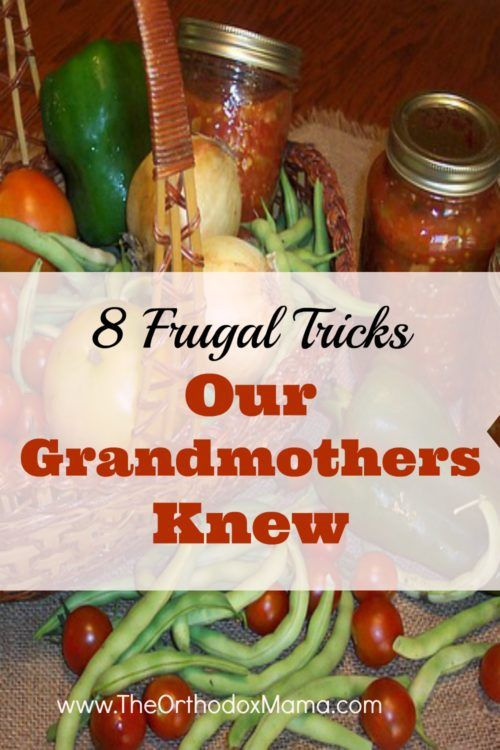 Many of our grandmothers ran very frugal households based on tricks they learned during the Great Depression.  Discover those tips and how they can help you save money today in the modern world!