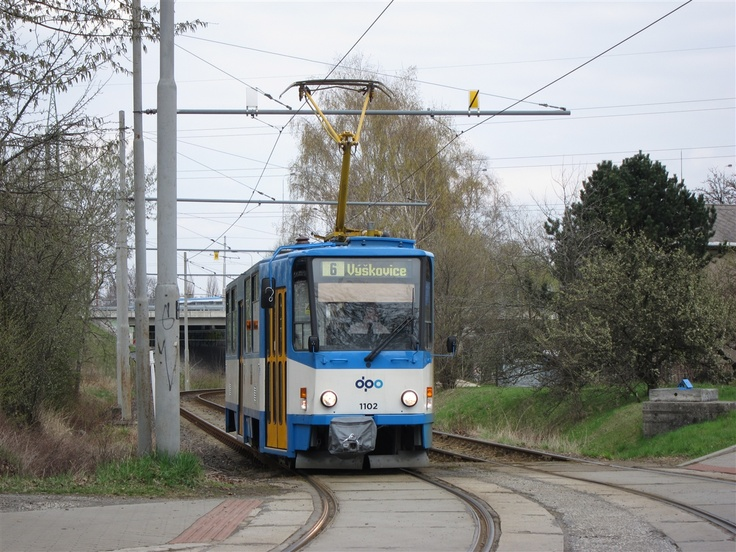T6 in Ostrava after maintenance