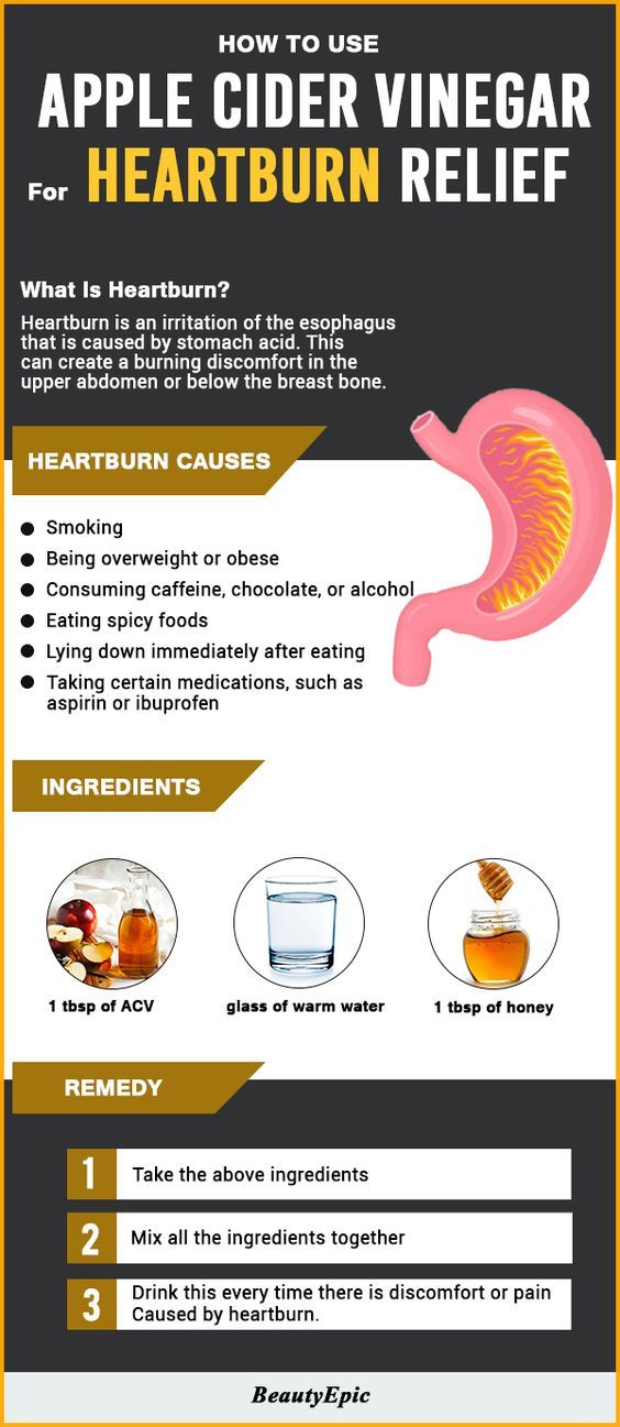 TOP 7 Home Remedies For Acid Reflux - 3 Easy Ways to Use Apple Cider Vinegar for Heartburn Relief