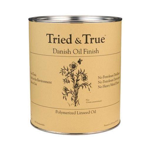 Tried and True Danish Oil Finish