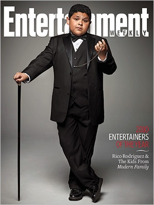Rico Rodriguez from Modern Family in Entertainment magazine!  He's from Bryan, TX!