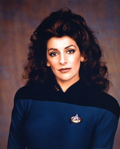 Star Trek: The Next Generation - Marina Sirtis as Troi