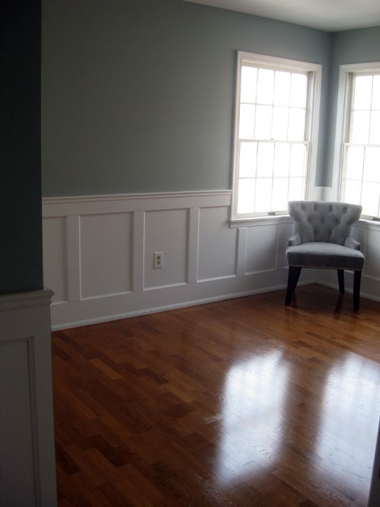 60 best wainscoting ideas images on pinterest master for Dining room wainscoting ideas