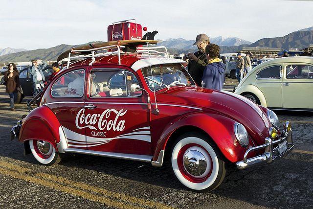 VW Fusca: Coca Cola