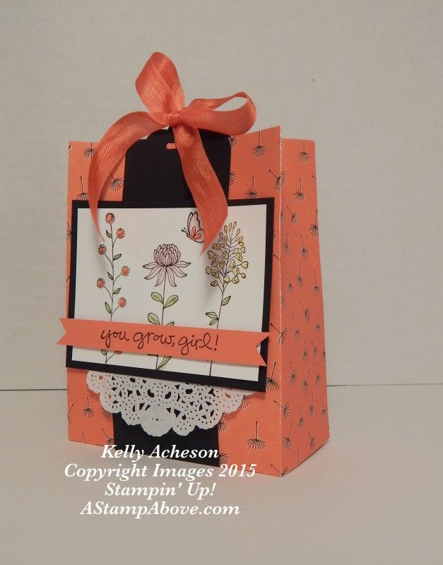 Flowering Fields Gift Bag - Watch my video here: http://astampabove.typepad.com/my-blog/2015/12/feature-friday-gift-box-video.html Thanks for looking!