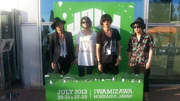 [Champagne]2013/7/20 JOIN ALIVE楽しかった。北海道愛してるぜ。またね。洋平