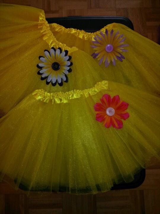 Yellow tutu www.facebook.com/babybandzbyjen