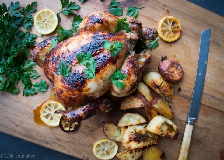 This healthy roast chicken marinade recipe is so simple you will never buy a pre cooked, take away chicken again. Gluten, sugar, additive and vegetable oil free.