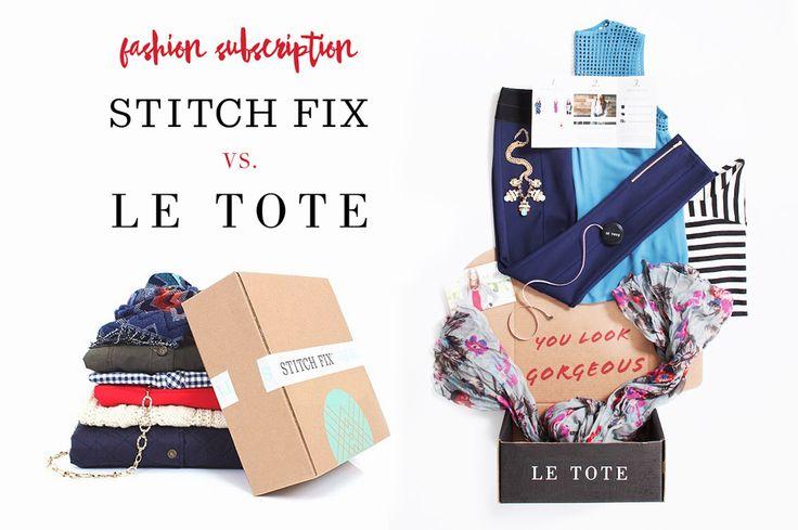 Stitch Fix vs. Le Tote | Why I chose Le Tote over Stitch Fix for My Fashion Subscription