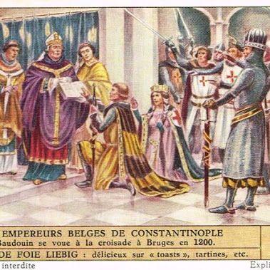 BELGIAN KINGS IN CONSTANTINOPLE