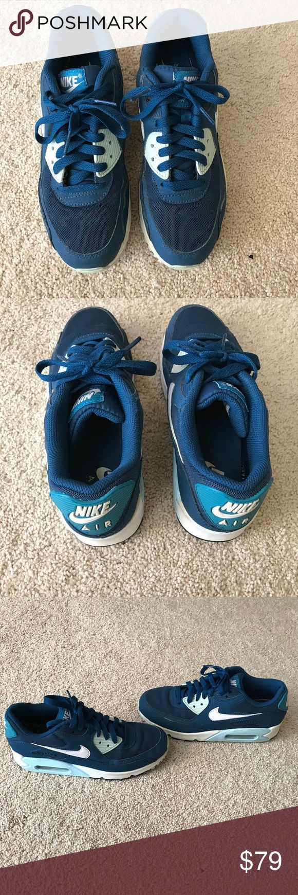 Women's Nike Air Mac 90 Nike Women's Air Max 90 Like new, worn couple of times, no box, no signs of wear, size 7.5 Retail Price $120 +tax, purchased @ Six 02 store Price is firm Nike Shoes Athletic Shoes