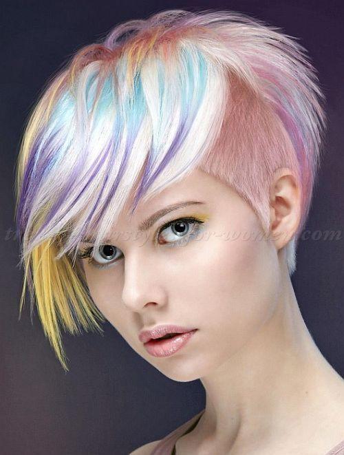 Эпатажные неформальные причёски. Фото №4