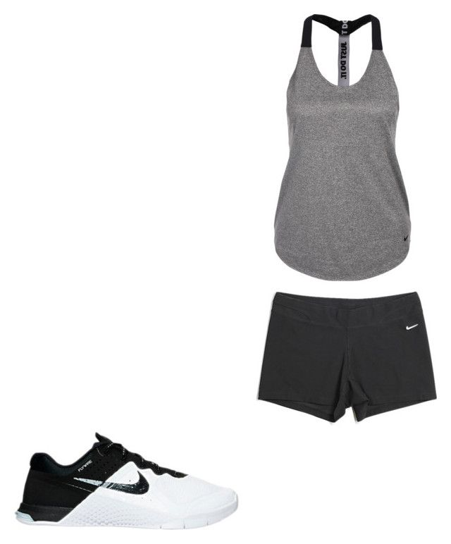 """Untitled #20"" by hongjina on Polyvore featuring NIKE"