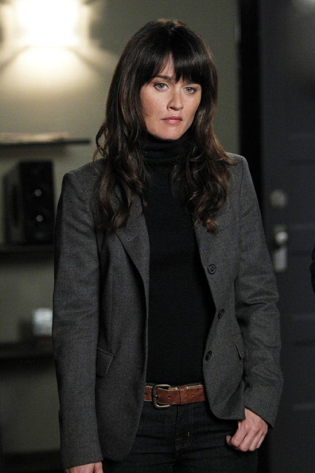 Oh, long hair: Robin Tunney in The Mentalist