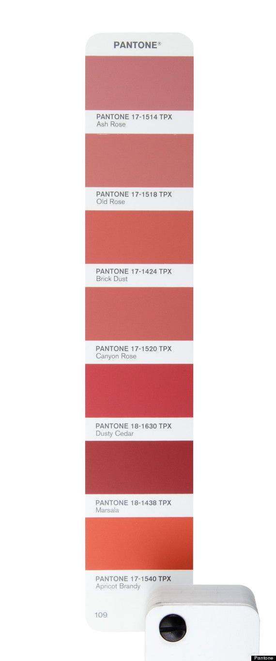 Pantones 2015 Colour Of The Year