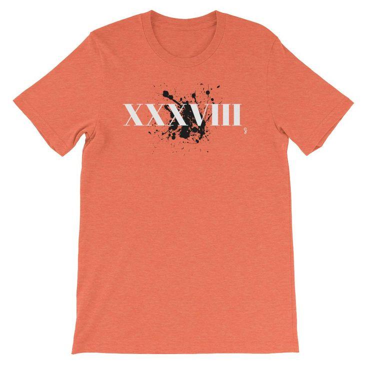 .38 Special Roman Numeral, Men's Short Sleeve T-Shirt