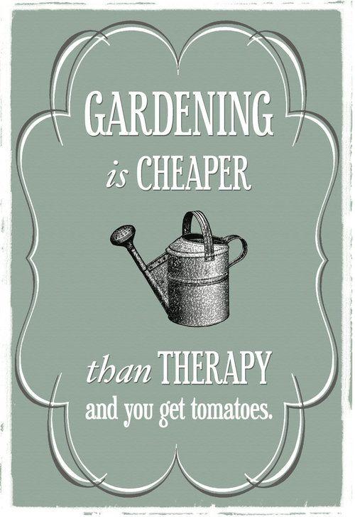 Gardening is...