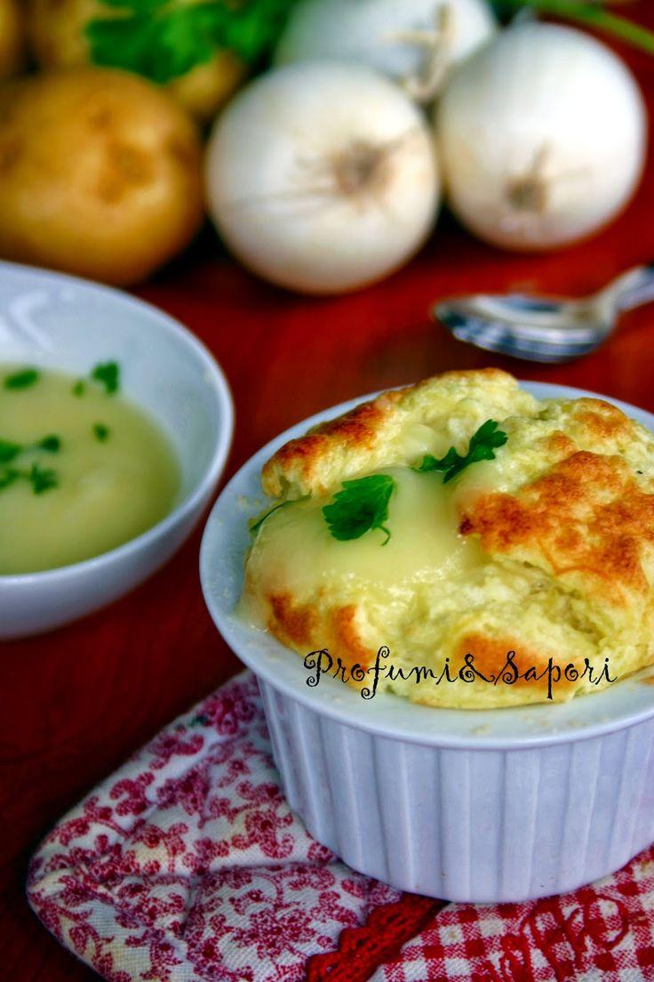 soufflè patate e cipolle