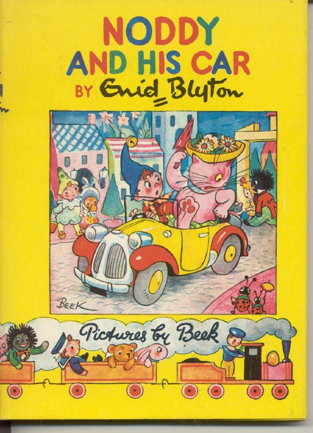 My Dad sold the whole set of Noddy books in his pharmacy. I was allowed to take out one at a time and read the lot. O f course, like a lot of things, Noddy, has been politically incorrect for many years.