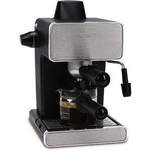 little espresso maker- cheap enough that I could justify this purchase... And stop frequenting starbucks