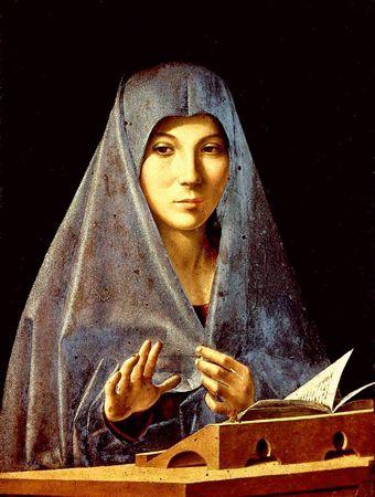 Antonello de Messine,  Vierge de l'Annonciation , 1476,