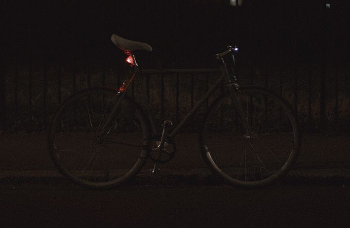 Volvo Developed Reflective Spray Paint To Make Cycling At Night Much Safer - Airows