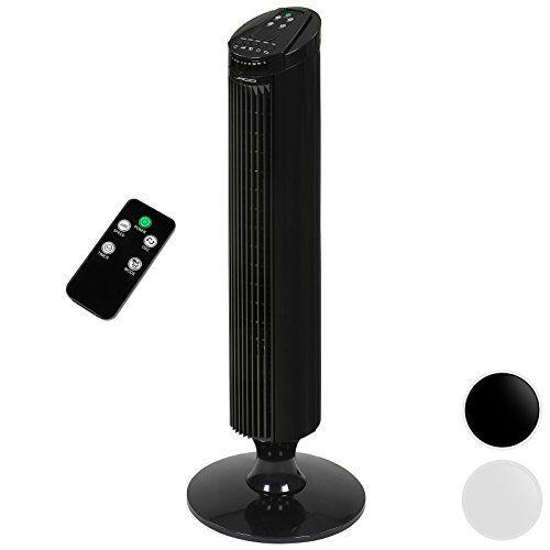 Jago – Ventilateur colonne – avec télécommande – 45 W – 3 vitesses – rotation : env. 70° – COLORIS AU CHOIX: Price:38.95Ce ventilateur…