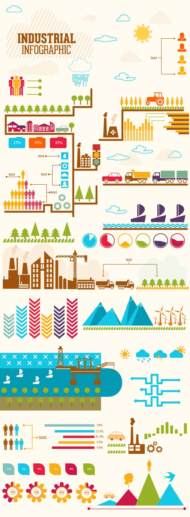 industrial-infographic-vector