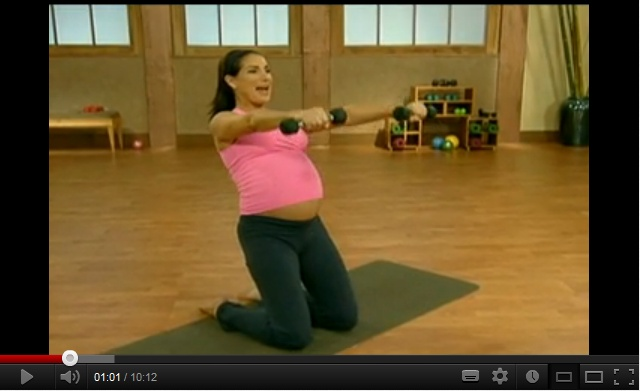 10 min prenatal Pilates (Part 3) for total body workout. Exercise for pregnant women. Check out part 1 & 2 as well