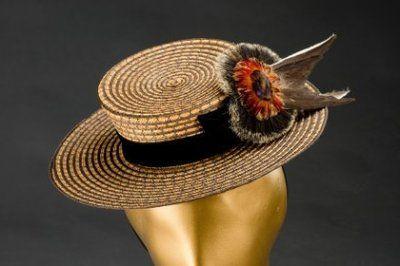 Klobouk dámský | 1898 | Www.Esbirky.Cz | CC0