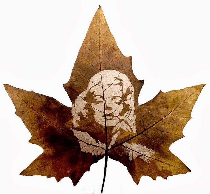 ► Leaf Carving Art