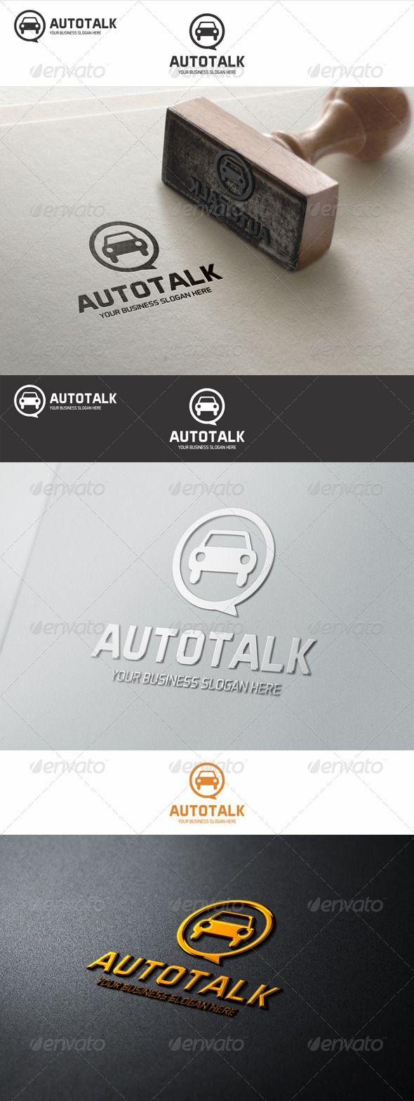 Auto Talk  - Logo Design Template Vector #logotype Download it here: http://graphicriver.net/item/auto-talk-logo/7713857?s_rank=533?ref=nexion