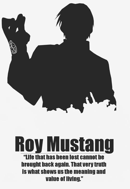 Roy Mustang   Fullmetal Alchemist Brotherhood   #FMAB   Anime