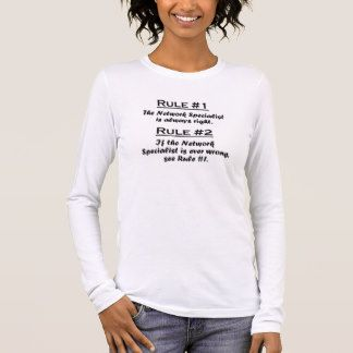Rule Network Specialist Long Sleeve T-Shirt