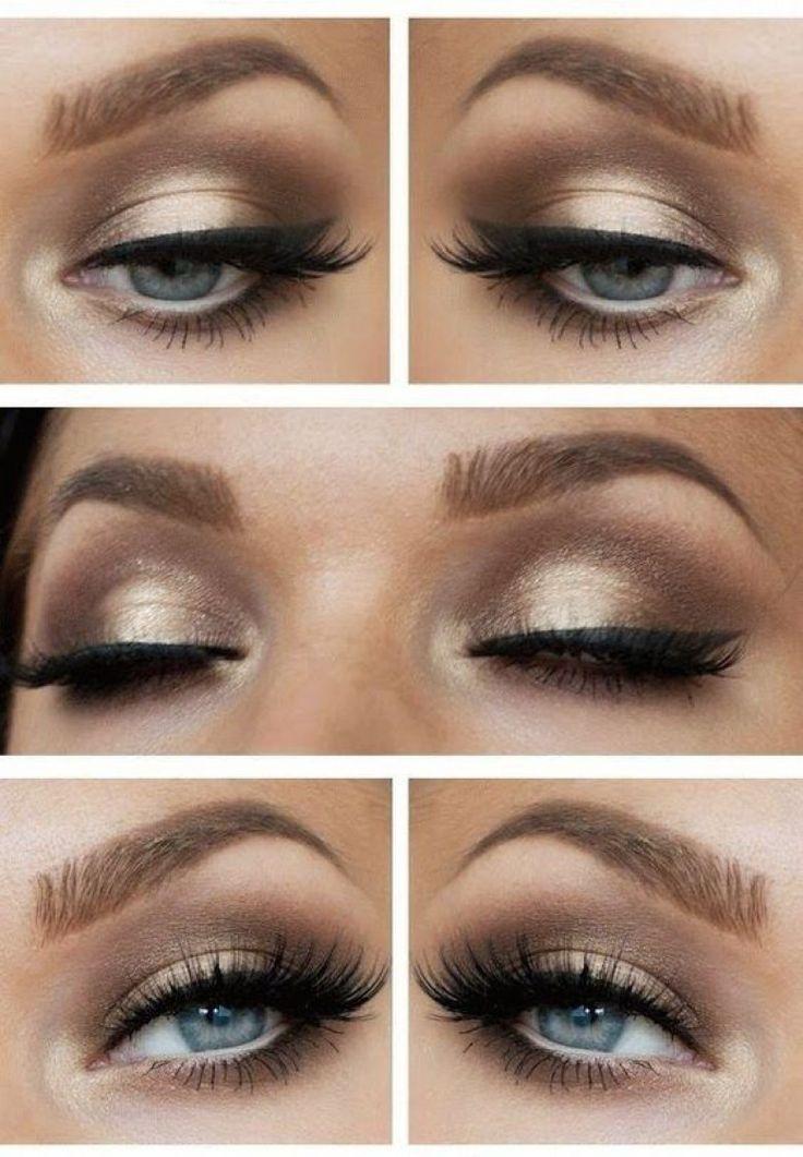 À toutes celles aux jolis yeux bleus, ces make-up sont fait pour vous !