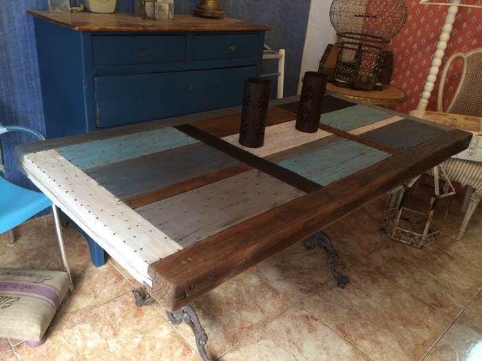 M s de 25 ideas incre bles sobre mesas de puertas viejas for Como hacer una puerta reciclada