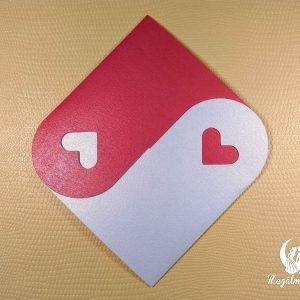 Little hearts formavágott esküvői meghívó #formavágott #esküvői #meghívó #esküvőimeghívó #cutting #wedding #weddinginvitations #love #hearts #unique
