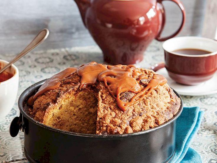 Kahveli ve bal kabaklı kış keki