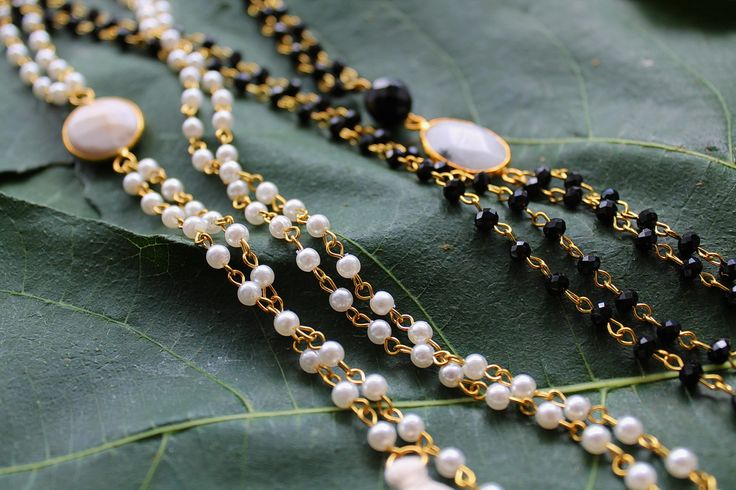 The absolute summer trend! Rosaries with semiprecious stones!!!