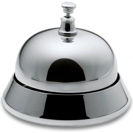 Polished Nickel Porters Bell by Philippi Design